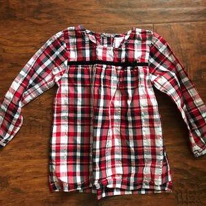 Toddler girl long sleeve shirt
